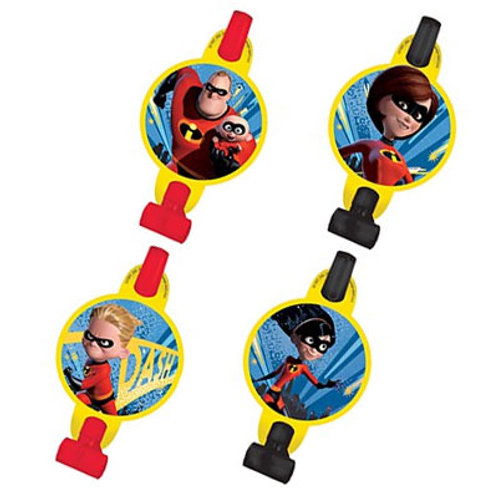 Incredibles 2 party blowouts | incredibles party | kids party supplies | 24-7 Party Paks