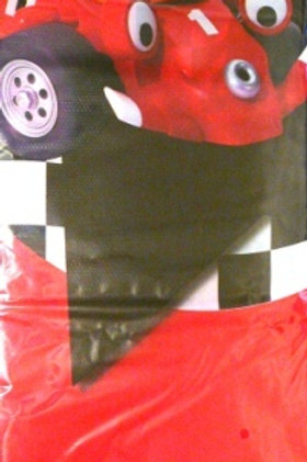 Roary the Racing Car party plastic tablecover