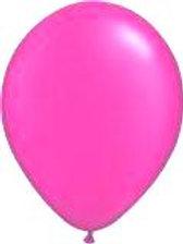 Pink Balloons metallic helium quality 30 cm