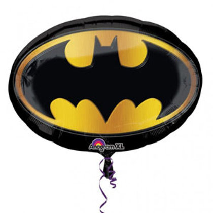 Batman icon foil balloon uninflated Supershape
