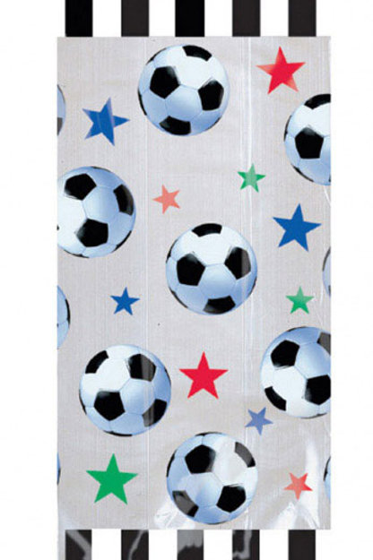 Soccer Cellophane party bags | soccer party | boys birthday | football party bags | 24-7 Party Paks
