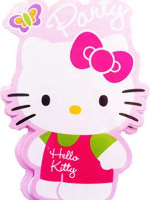 Hello Kitty birthday party invitations |party invitations | Hello Kitty Party theme | 24-7 Party Paks
