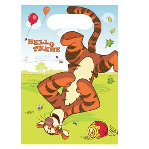 Winnie the Pooh party bags | Tigger party supplies | 1st birthday party supplies | 24-7 Party Paks