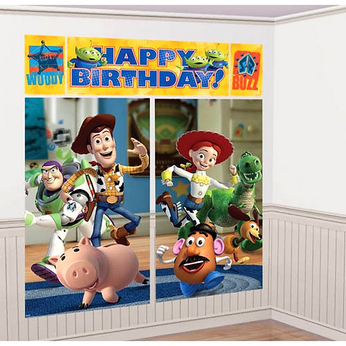 Disney Toy Story 3 wall decorating giant scene 6ft
