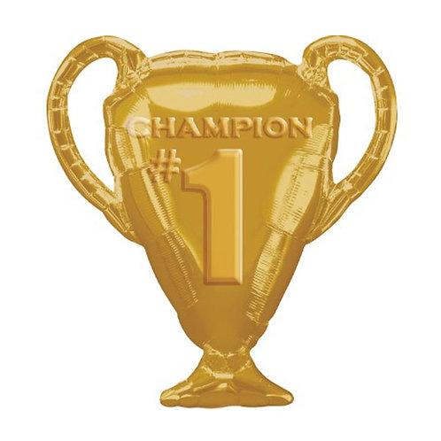 Trophy foil balloon | Winner's cup balloon | champion balloon | sports party balloons | 24-7 Party Paks