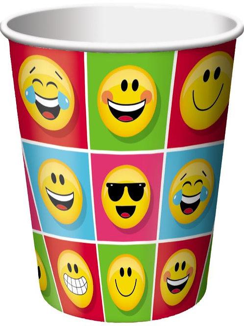 Emoji party cups   Emoji party   Emojis   kids party drink cups   24-7partypaks
