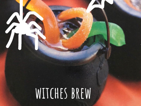 4 fun halloween party game ideas for Witches with brew and a ghost named BOO !