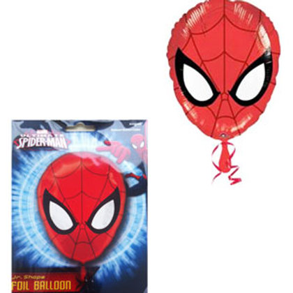 Spiderman junior shape foil balloon uninflated