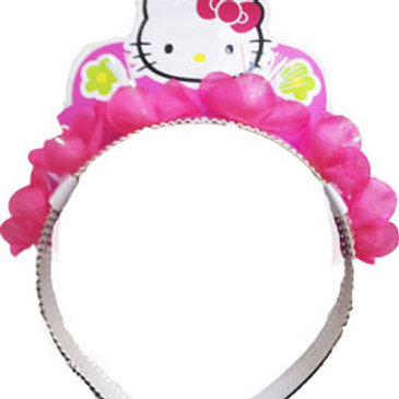 Hello Kitty headband costume piece for dressups and girls party headwear | 24-7 Party Paks