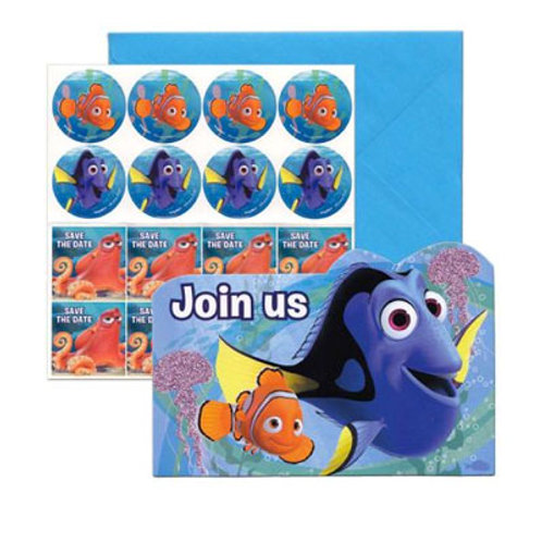 Finding Dory Birthday party invitations | Nemo party supplies |Adelaide