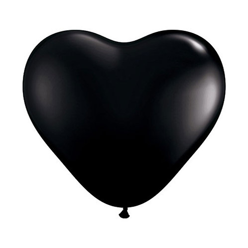 black heart shaped balloons | valentines day balloons | heart balloons