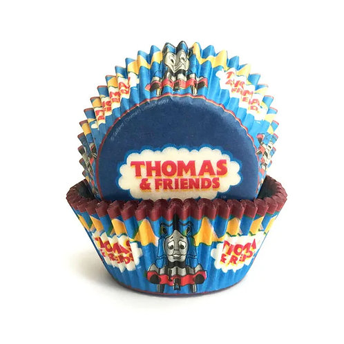 Thomas the Tank cupcake cases pack 50
