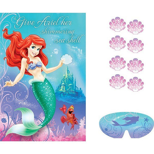Disney Ariel Little Mermaid party game 8 players