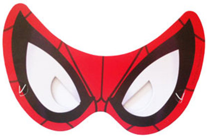 Ulimate Spider-man party masks pk 8