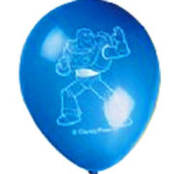 Toy Story 3 Buzz party balloons pk 6 - blue