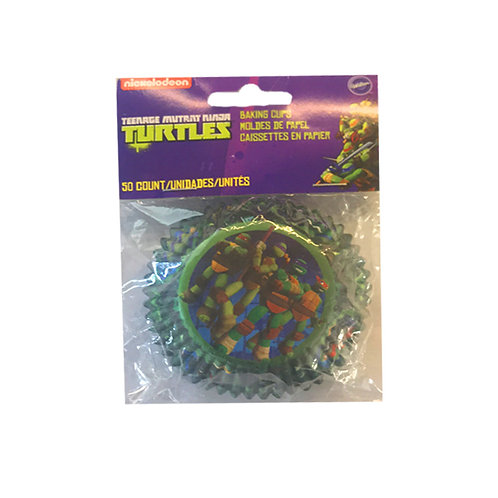 Teenage Mutant Ninja Turtle TMNT cupcake baking cups
