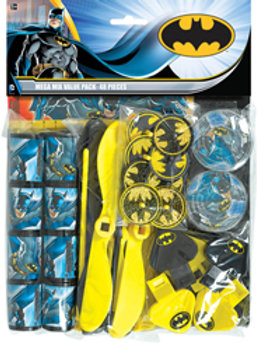 Batman party toys pack for kids - 48 pieces