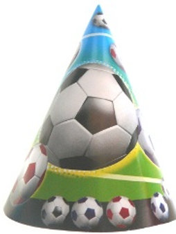 soccer birthday party hats | cone party hats | boys party hats