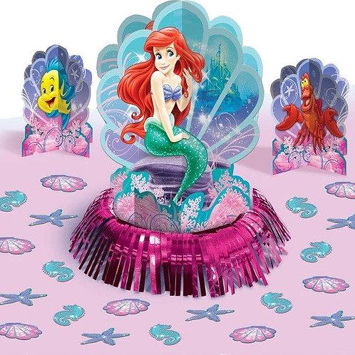 Disney Ariel Little Mermaid table centrepiece dec