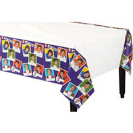 One Direction 1D party tablecover 182cm x 137cm