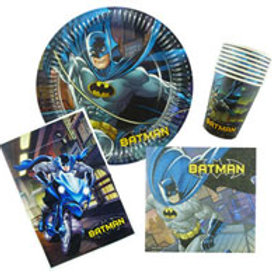 Batman birthday party pack 8 guest