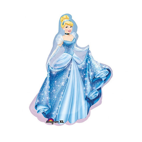 Disney Princess Cinderella shape foil balloon 61cm