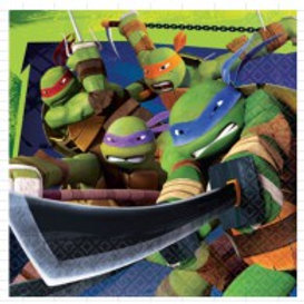 Teenage Mutant Ninja Turtle lunch napkin pack 16