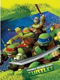 Teenage Mutant Ninja Turtle party loot bags pk 8