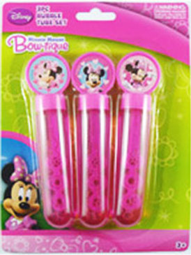 Minnie Mouse party bubbles | Bubbles | party favors | girls birthday party | 24-7 Party Paks