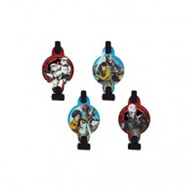 Star Wars Rebels party blowouts pack 8 favors