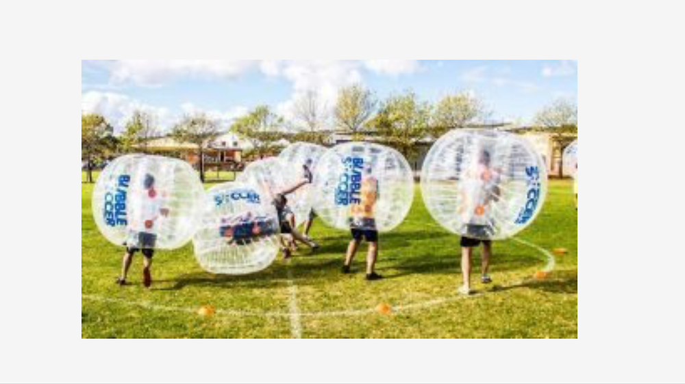 Bubble Soccer now this is for anyone sooo much fun www.bubblesports.com Adelaide Darwin Sydney Melbourne Brisbane and more