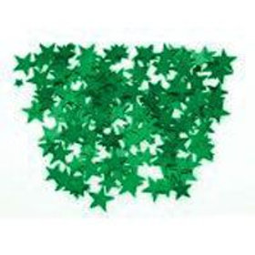 Metallic Emerald Green Star shaped table scatters | party decorations | party table sprinkles | 24-7 Party Paks