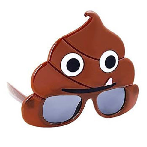 Emoji Poop Glasses fun costume accessory glasses - Emoji party theme