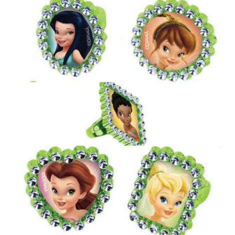 Disney Fairies party cupcake rings 18 girls favors