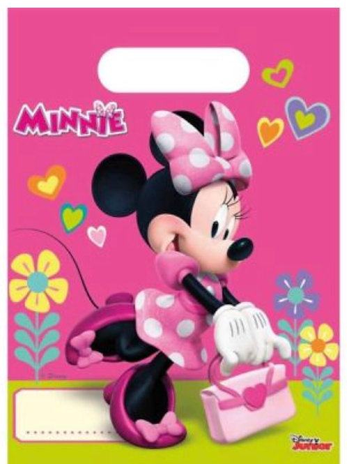 Minnie Mouse party bags | Minnie Mouse party supplies Australia | girls birthday parties | 24-7 Party Paks