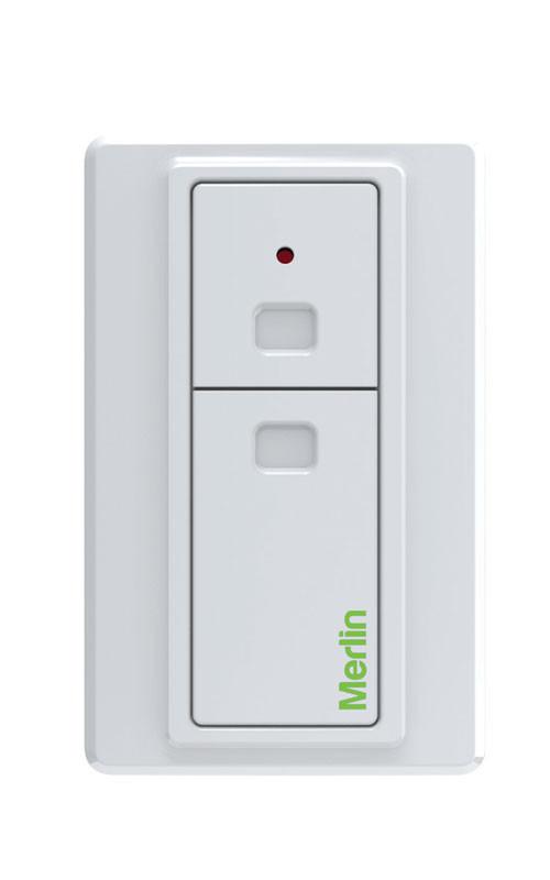 Merlin wireless wall plate
