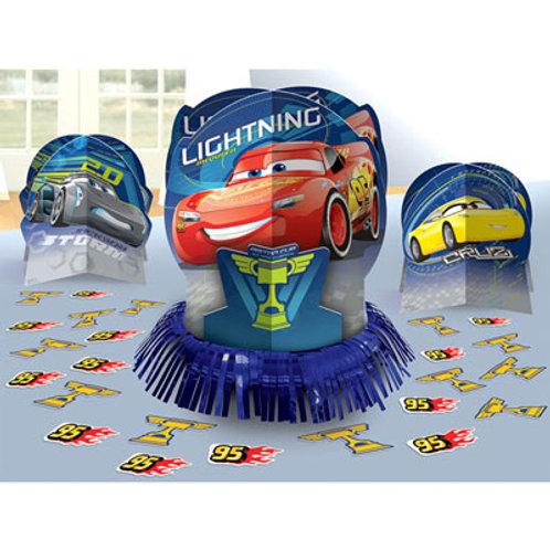 Disney Cars 3 table centrepiece decorating kit | 24-7 Party Paks
