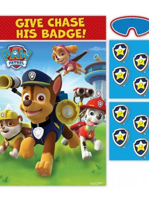 Paw Patrol party game 8 players