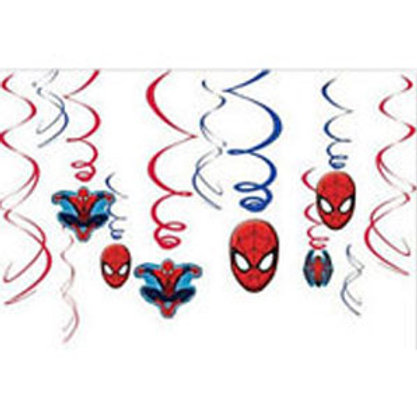 Spider-man Ultimate Swirls hanging decorations
