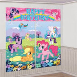 My Little Pony Friendship giant wall Scene Setter 5 pieces