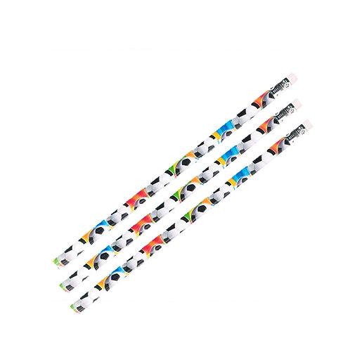 Soccer pencils party favor pack 12