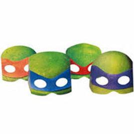Teenage Mutant Ninja Turtle party masks pk 8