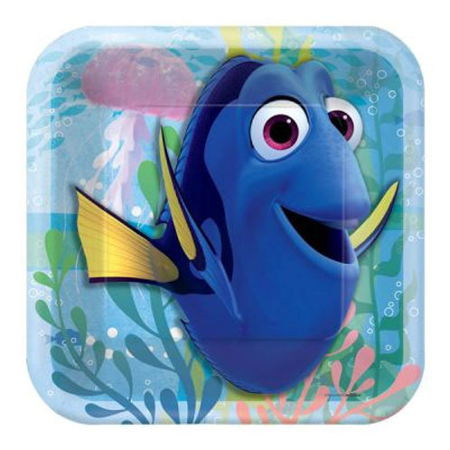 Finding Dory party plates kids snack size   Nemo birthday party supplies Australia