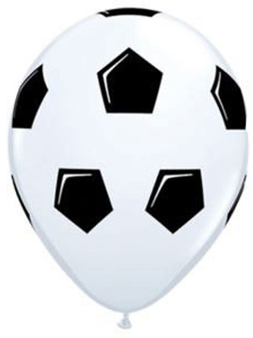 Soccer party balloons | soccer party decorations | kids party balloons | soccer theme balloons | 24-7 Party Paks