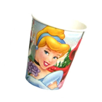 Disney Princess disposable paper party cups pk 8
