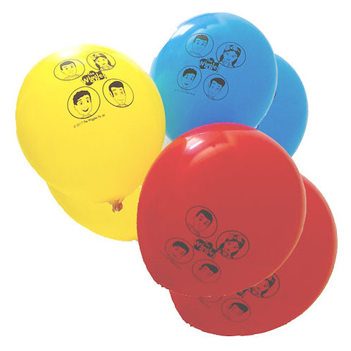 Wiggles balloons | Wiggles party balloons | The Wiggles balloons | kids party balloons | 24-7 Party Paks