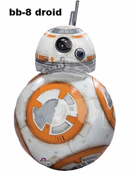 Star Wars BB 8 Droid character foil balloon 83 cm