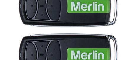 Merlin roller door remotes