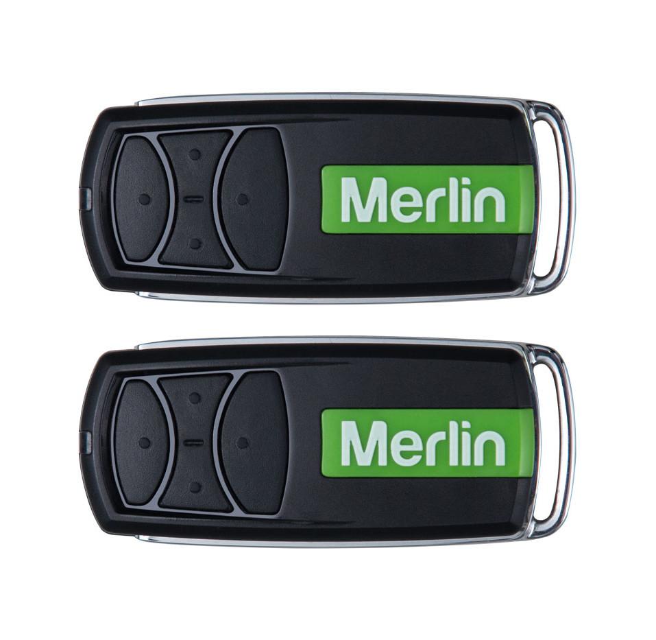 Merlin reoller garage door remotes