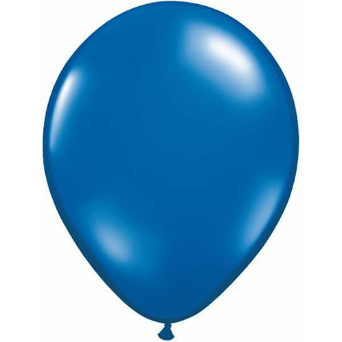 Blue balloons metallic pack 10 uninflated